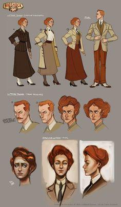 Designing BioShock Infinite characters