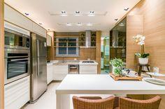 Lançamento Maison Zenith, apartamentos na Jardim Araxá em Londrina - A.Yoshii Engenharia e Construção Civil #cozinha