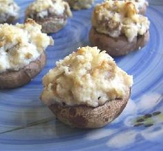 "Garlic-Ricotta Stuffed Mushrooms: ""Oh my gosh these are so good!"