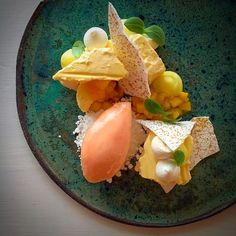 Grape Fruit • Pineapple • Mango • Meringue