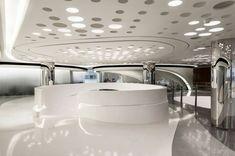 Futuristic Interior, Sky SOHO by Zaha Hadid Architects, Shanghai, China: Zaha Hadid Architecture, Space Architecture, Futuristic Architecture, Futuristic Interior, Futuristic Furniture, Futuristic Design, Home Interior, Modern Interior, Interior Design
