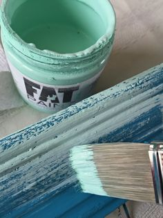 Extra FAT layering paint is easy, dry brush it on to create cool layered looks for a salt wash and vintage look