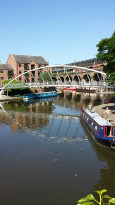 Castlefield - historic area of the city