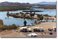Squaw Lake Campground, Yuma AZ
