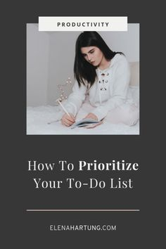 How To Prioritize Your To-Do List [+Free Worksheet! Business Marketing, Online Business, Business Advice, Eisenhower Matrix, To Do Planner, Feeling Stressed, Time Management Tips, Prioritize, Getting Things Done