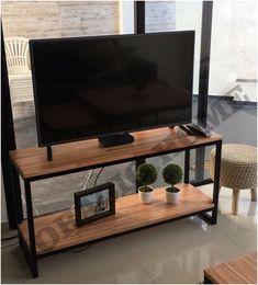 Welded Furniture, Metal Furniture, Furniture Design, Bedroom Setup, Bedroom Decor, Living Room Storage, Living Room Decor, Rack Tv, Tv Rack Design