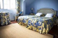 This is an example of using two primary colors in one room which are blue and yellow. Yellow is a warm color and blue is a cool color. Micah Spurgeon