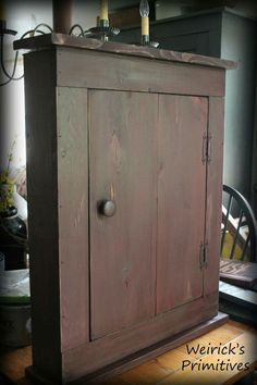 Cupboards, Cabinets, Prim Decor, Keeping Room, Furniture Redo, Primitives, Mudroom, Colonial, Woodworking Projects