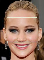 Find your face shape. according to this my face is square or oblong