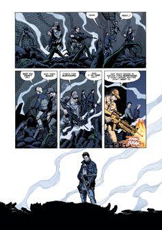 Falling Skies Comic Book