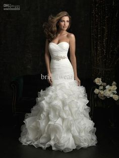 Wedding Dress Collection Dresses Gown Gowns Bridal Gorgeous Elegant Beautiful Mermaid Cut Sheath Fit And Flare