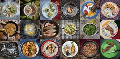 """These days, documenting our dinners for the Internet is a universal pastime: sharing your food means that you don't dig into your plate until you've taken a picture of it with your phone and posted it to your social networks. We embraced this form of photography for our story, """"The Evolution of Diet."""""""