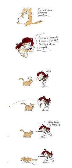 Yatuu: A la diète le chat !!