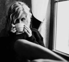 Drinking Coffee