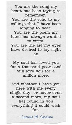 You Are My Everything Quotes, Love Quotes For Her, Romantic Love Quotes, Love Poems, Quotes For Him, Be Yourself Quotes, Me Quotes, Romantic Memes, 2015 Quotes
