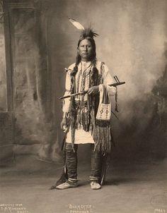 BLACK OTTER (SOUTHERN ARAPAHO) , 1898