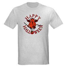 #Halloween Nevil Devil Light T-Shirt