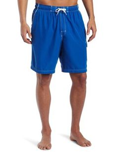 90a5ae20e7 Speedo Men's Marina Core Basic Watershorts, Big & Tall, Classic Blue, Swim  truck with elastic waistband featuring side cargo pocket and mesh lining  Slanted ...