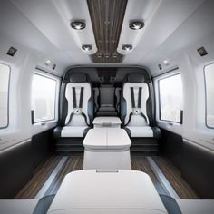 Mercedes-Benz Style Luxury Helicopter Interior l 3D on Behance