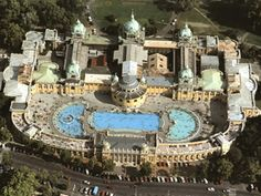 Széchenyi Spa Bath in Budapest: Soaking, Healing, Fun great info for travel to Budapest