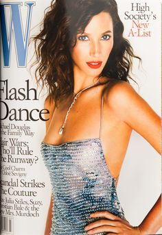<em>W</em> Magazine's Supermodel Cover Girls - Christy Turlington on the cover of W Magazine March 2000-Wmag