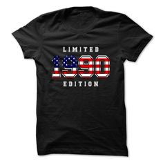 cool  Limited 1990 Edition - USA [ cheap Check more at http://bustedtees.top/age-t-shirts/cheap-price-limited-1990-edition-usa-cheap.html