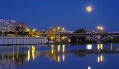 Puente de Triana Sevilla - Spain