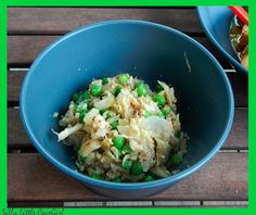 """Silly Little CaveGirl: (Almost) Paleo Fried """"Rice"""""""