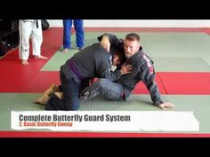 Complete Butterfly Guard System - YouTube