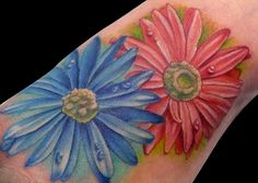 aster tattoo | Events Aster Flower Tattoo Daughter Of Rajnikanth Daria Zhukova Style ...