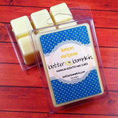 Lemon Verbena Scented Wax Cubes / Maximum Fragrance Melts - Clean Citrus Aroma on Etsy, £2.23