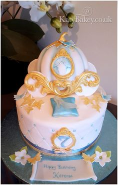 Bespoke celebration cakes, weddings, birthdays, christenings and corporate events. Cinderella Decorations, Cinderella Cakes, Cinderella Pumpkin, Pumpkin Birthday Cakes, 4th Birthday Cakes, Cinderella Baby Shower, Cinderella Birthday, Princess Carriage, Cinderella Carriage