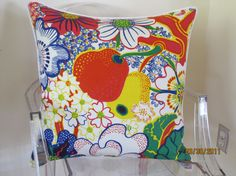 Shop for pillows on Etsy, the place to express your creativity through the buying and selling of handmade and vintage goods. Joseph Frank, Cushions, Throw Pillows, Bed, Creative, Fabric, Handmade, Etsy, Tejido