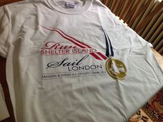 This year's Shelter Island 10k was dedicated to local Olympian, Amanda Clark who will sail the 470 in #London2012 in #Weymouth