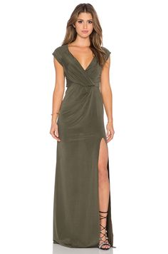 THE JETSET DIARIES Kendall Maxi Dress in Green
