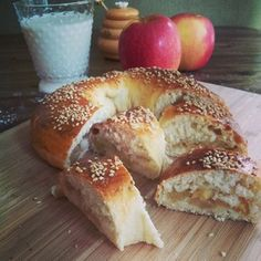 Happy Rosh Hashanah! Celebrate with Apple-Stuffed Challah