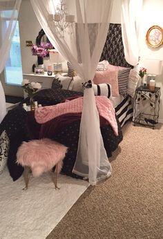 Victoria Secret Inspired Bedroom