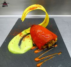 Red pepper dish. Looks amazing!