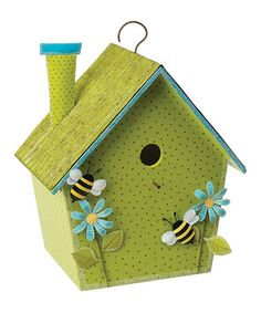 The Latest Buzz Birdhouse by Sunset Vista Design Co., Inc.