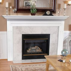 Pearl Mantels Newport Wood Fireplace Mantel Surround