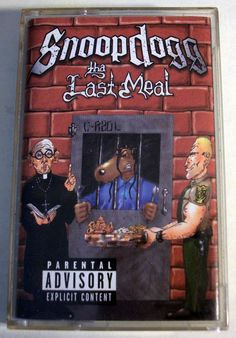 "Snoop Dog ""The Last Meal"" Music Cassette Tape 2000 Priority Records #GangstaHardcore"