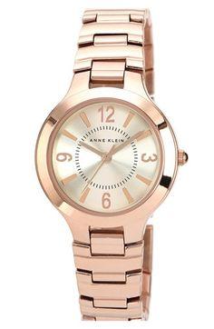 Anne Klein Round Bracelet Watch, 32mm (Save Now through 12/9) available at #Nordstrom