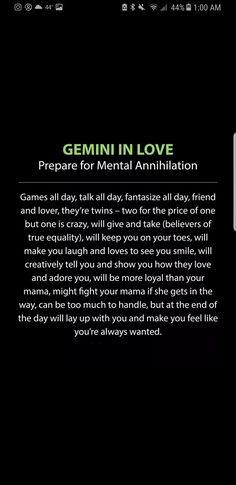 Gemini in love Gemini And Scorpio, Gemini Traits, Gemini Sign, Gemini Quotes, Gemini Love, Gemini Woman, Gemini And Cancer, Zodiac Signs Horoscope, Gemini Zodiac
