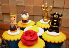 The Beauty and the Beast Ideas Birthday Party.01