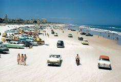 Daytona Beach, 1957.