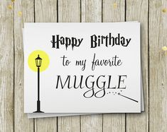 Harry Potter Birthday Message Etsy :: your place to buy and sell all