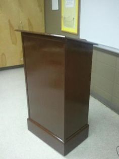 Podium for My Wife's Classroom | Do It Yourself Home Projects from Ana White