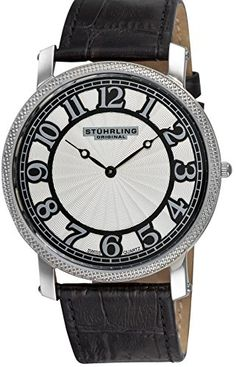 Stuhrling Original Mens 90433152 Hyperion Date Black * See this great product.