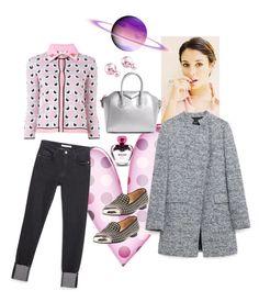 """blanca. estilo a los 50."" by natavic ❤ liked on Polyvore featuring Suarez, Fendi, Zara, Givenchy, Christian Louboutin, Christian Dior, Moschino, women's clothing, women and female"