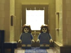 The Overlook Hotel (from THE SHINING) in Legos